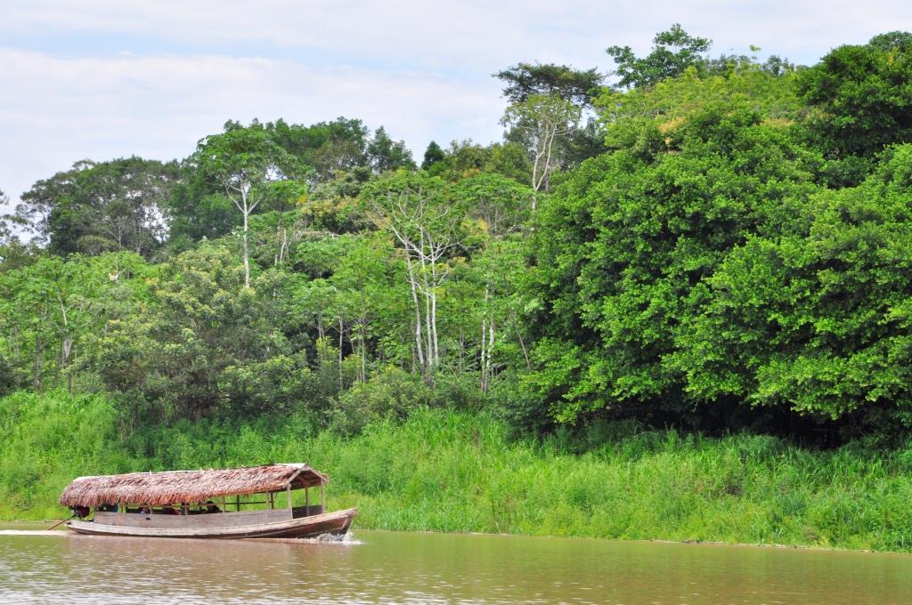 Sur l'Amazone, transport local