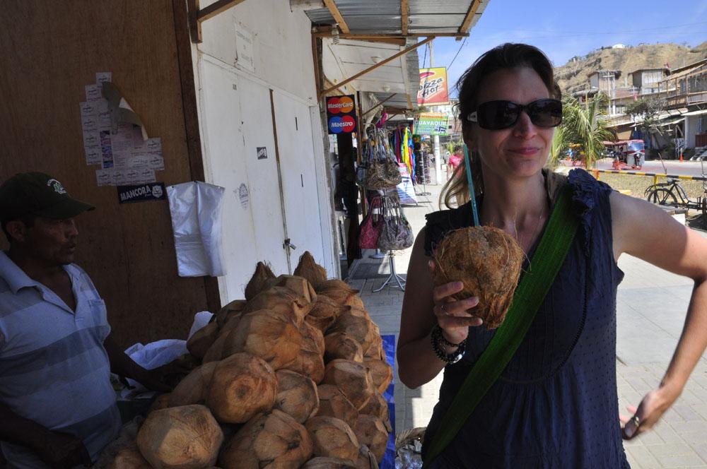 Mancora, Mag est friande de coco