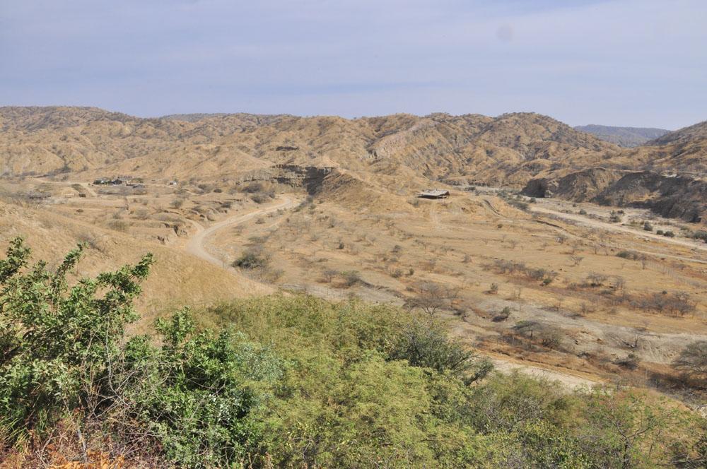 Mancora, l'arrière-pays désertique