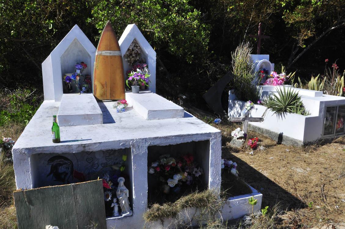 Le cimetière de Puerto Villamil