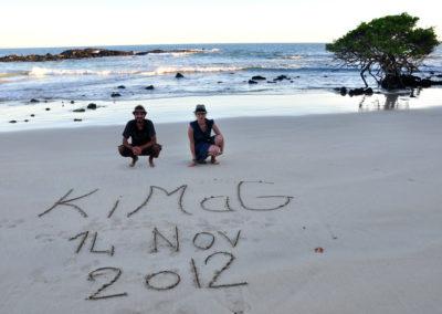 Galapagos rock !!!