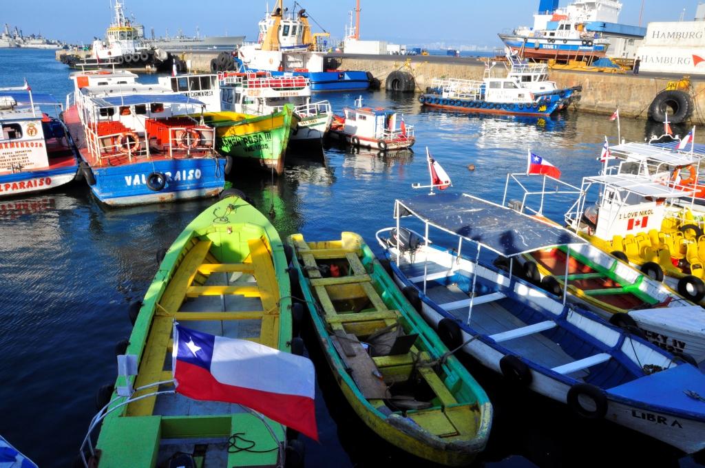 Valparaiso, c'est aussi un gros port !