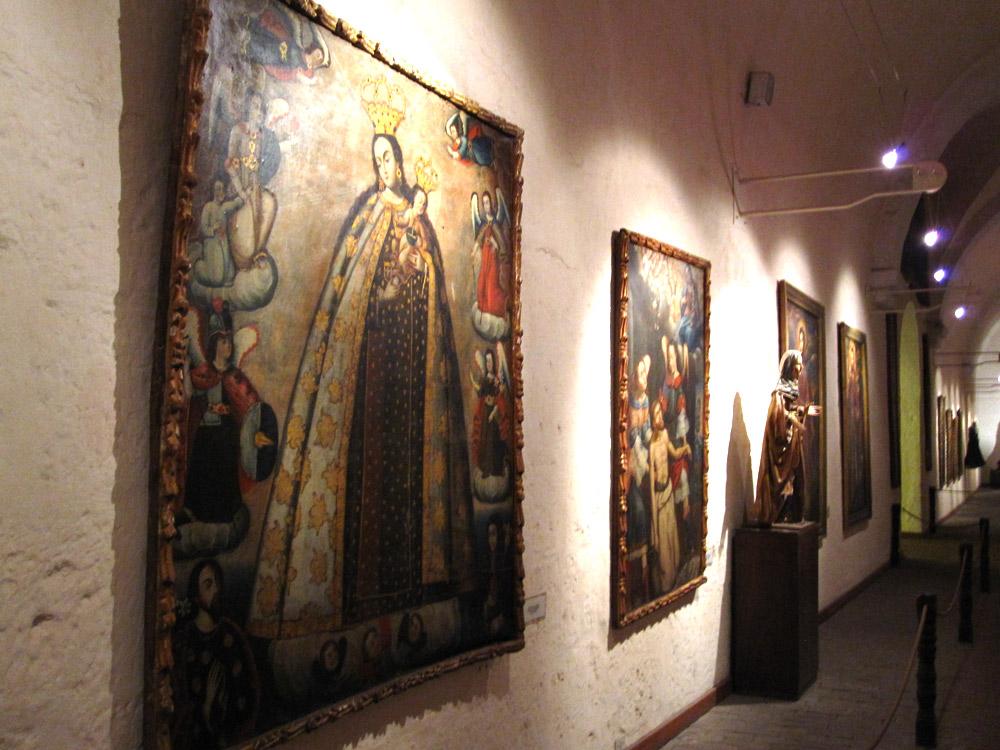 Pinacothèque de toiles cusquéniennes à Santa Catalina, Arequipa