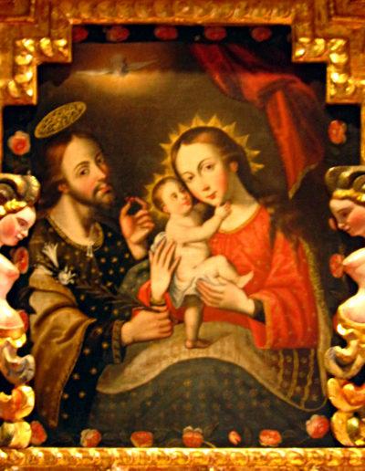 La sagrada familia, XVIIIe siècle, Musée d'histoire de Cusco
