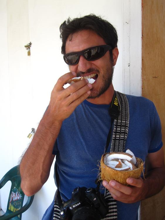Mancora, Kim aussi est friand de coco