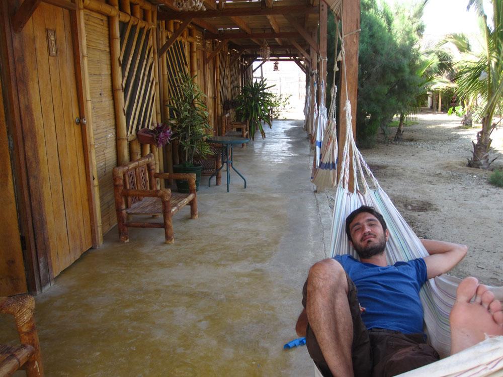 Mancora, hospedaje Guacamayo