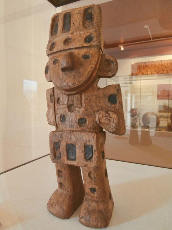 Une figurine retrouvée sur le site