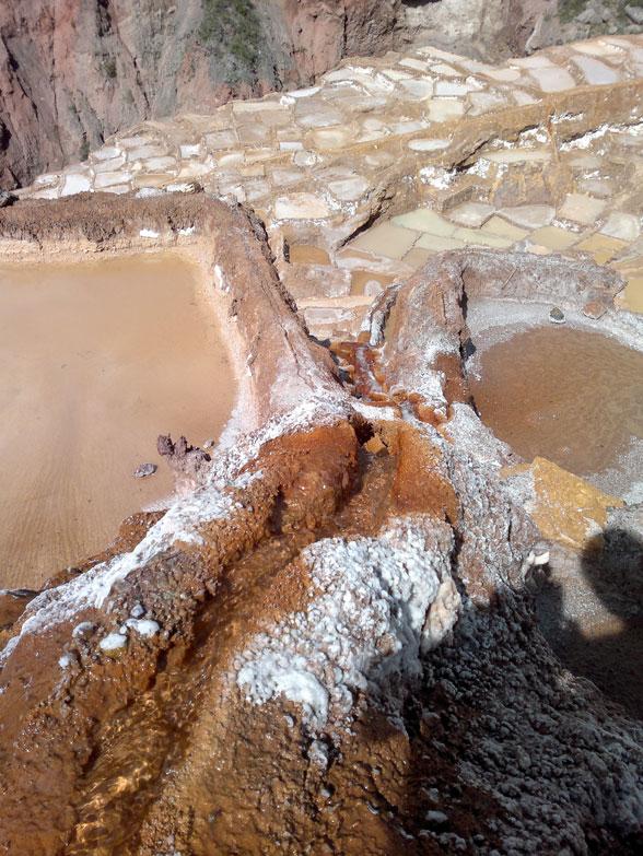 Maras, bassins salins en terrasse
