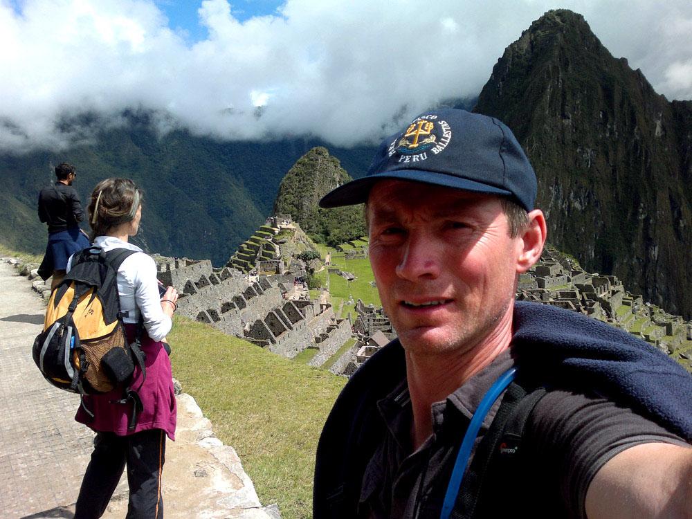 Machu Picchu, la séance photos commence