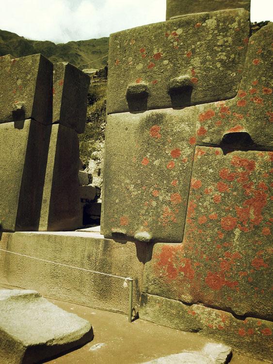 Ollantaytambo, des grosses pierres