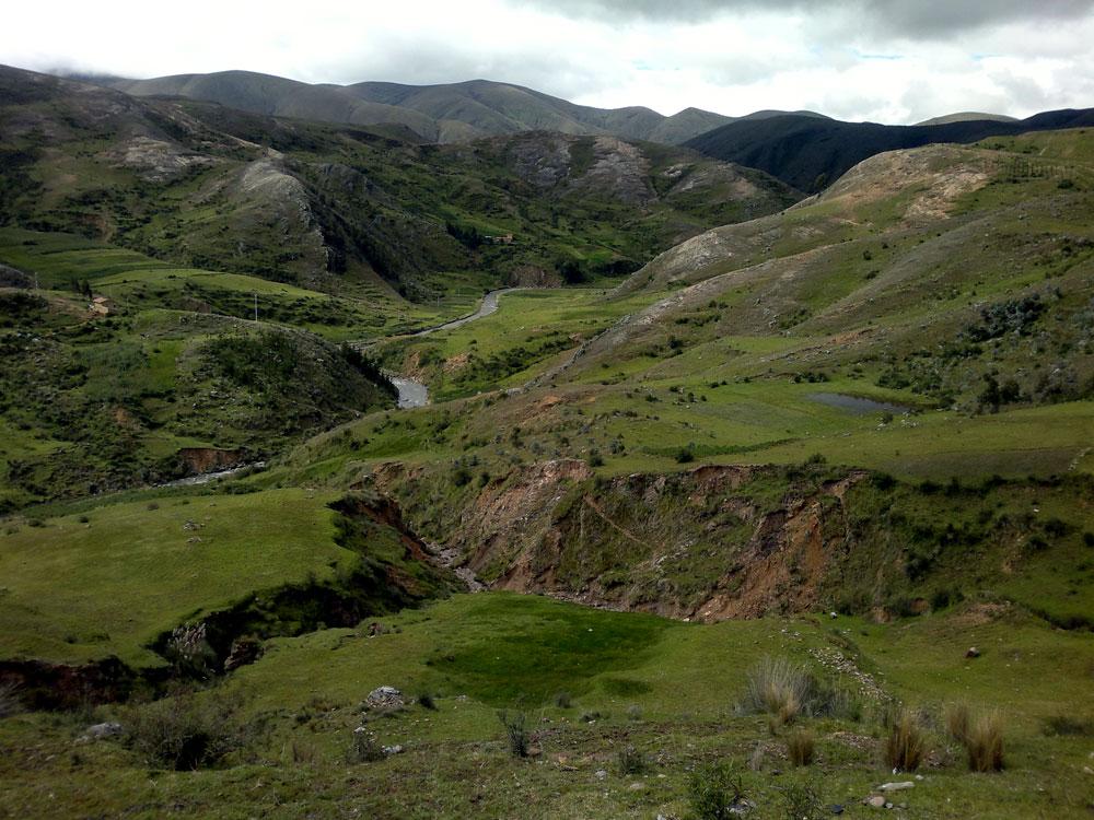 A nouveau dans l'altiplano