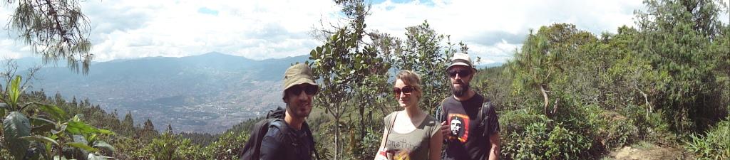 Medellin depuis le parc Arvi