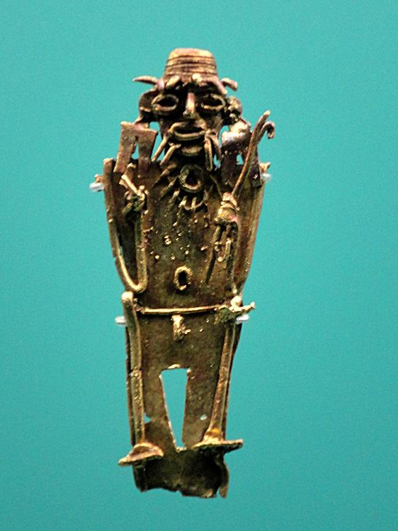 Objet de rituel Muisca (600 - 1500) plateau des Andes