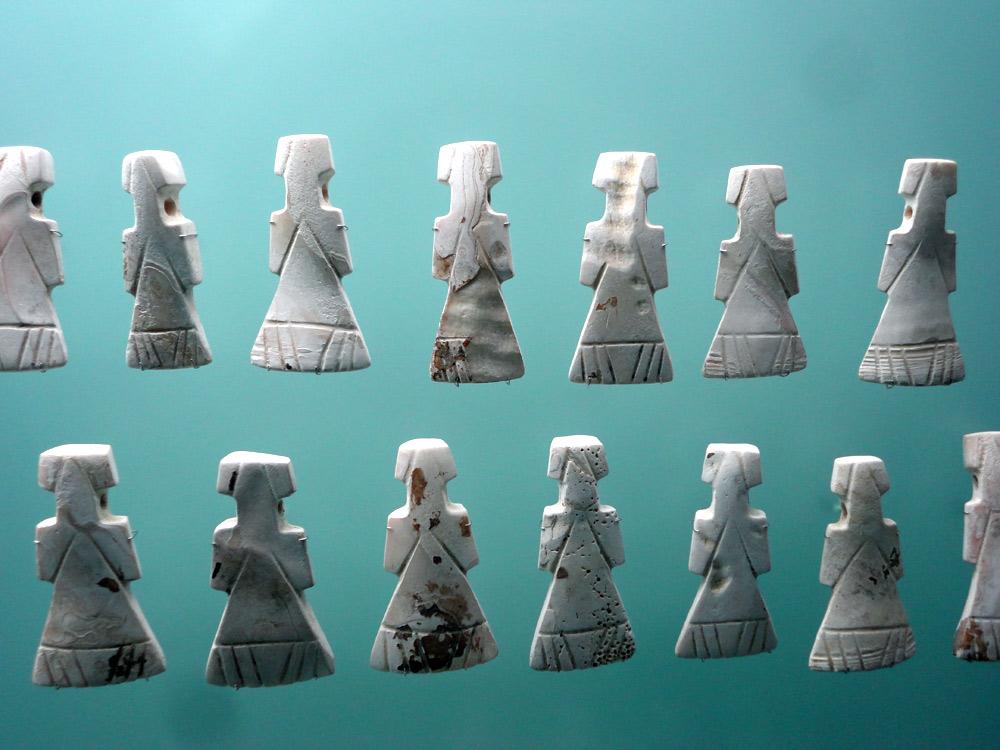 Figurines pour rituel Zenu (450 - 1500) cête caraïbe et plaines marécageuses