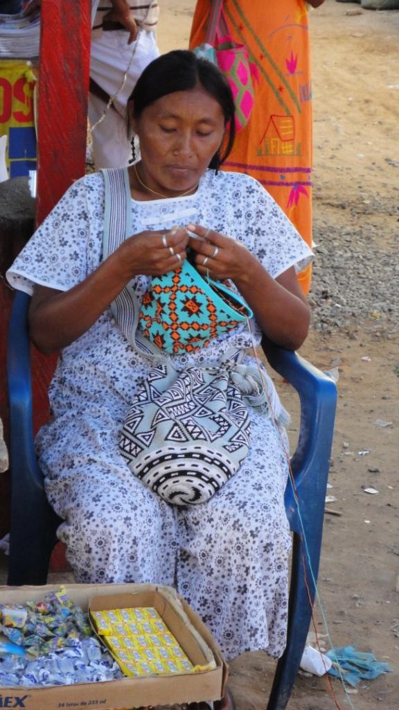 Cabo de la Vela, mama Wayuu