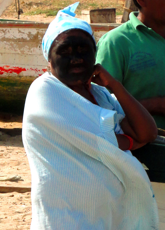 Punta Gallinas, mama Wayuu