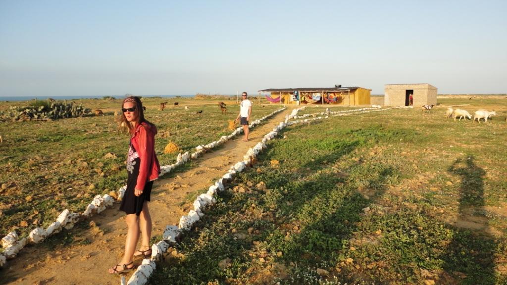 Punta Gallinas, l'auberge