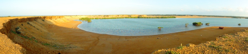 Punta Gallinas, la bahia