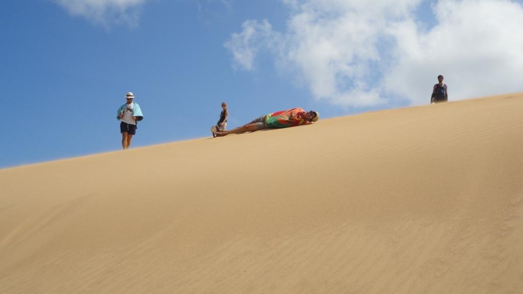 Punta Gallinas, rouler-bouler dans les dunes
