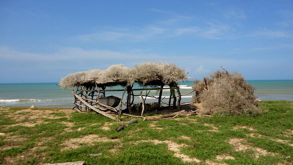 Punta Gallinas, côté mer