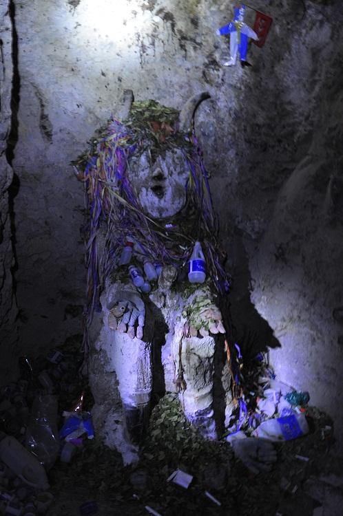 El Tio, protège les mineurs - Potosi