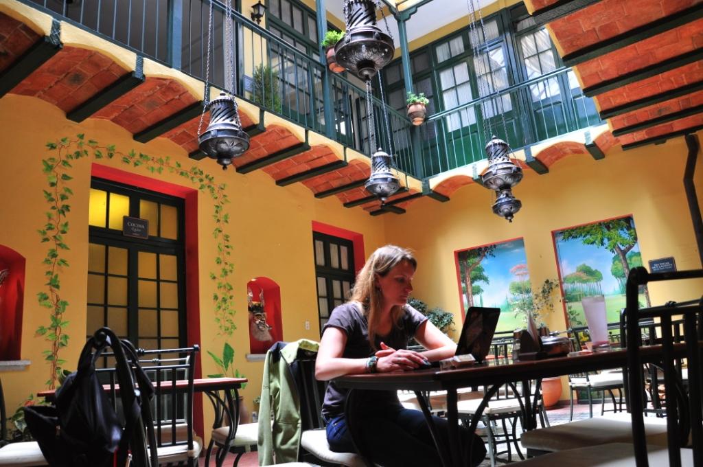 La Paz, mise à jour du blog avec Hyacinthe