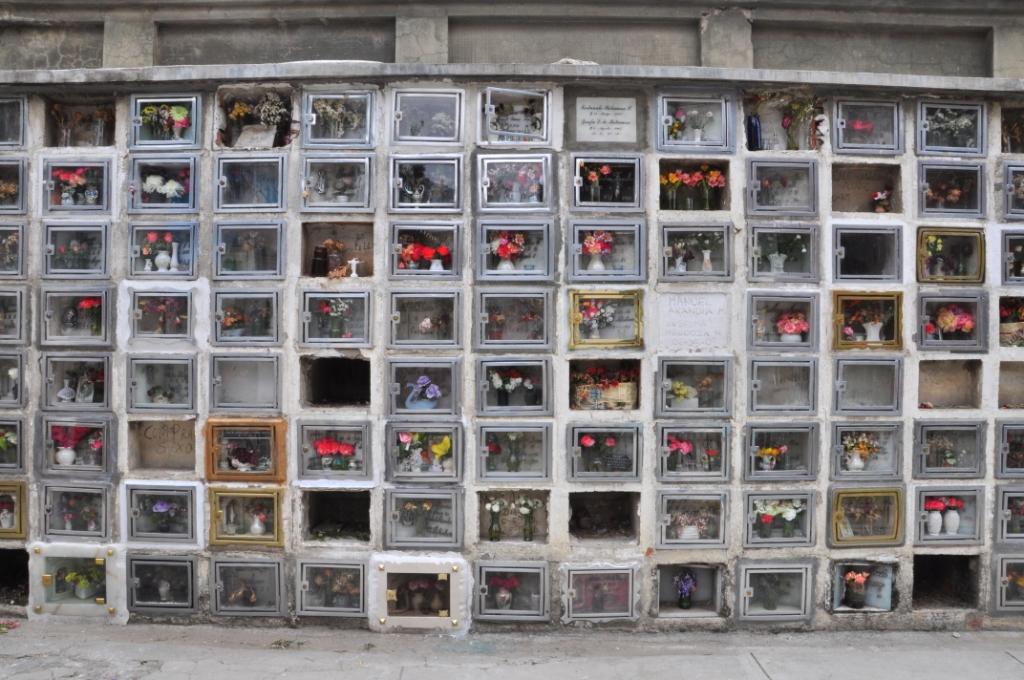 La Paz, le cimetière