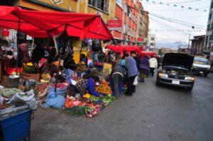 Les rues de La Paz