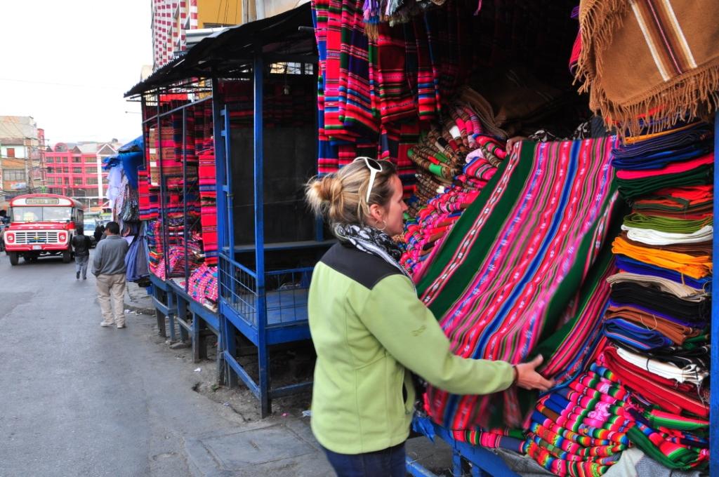 La Paz, les emplettes