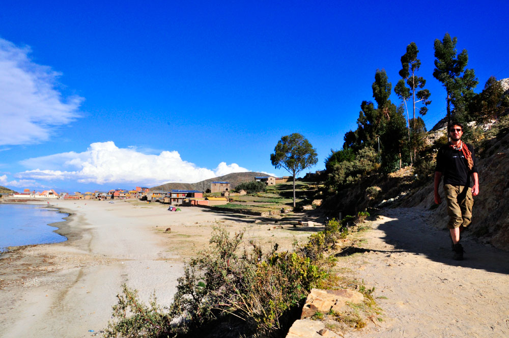 Isla del Sol, plage