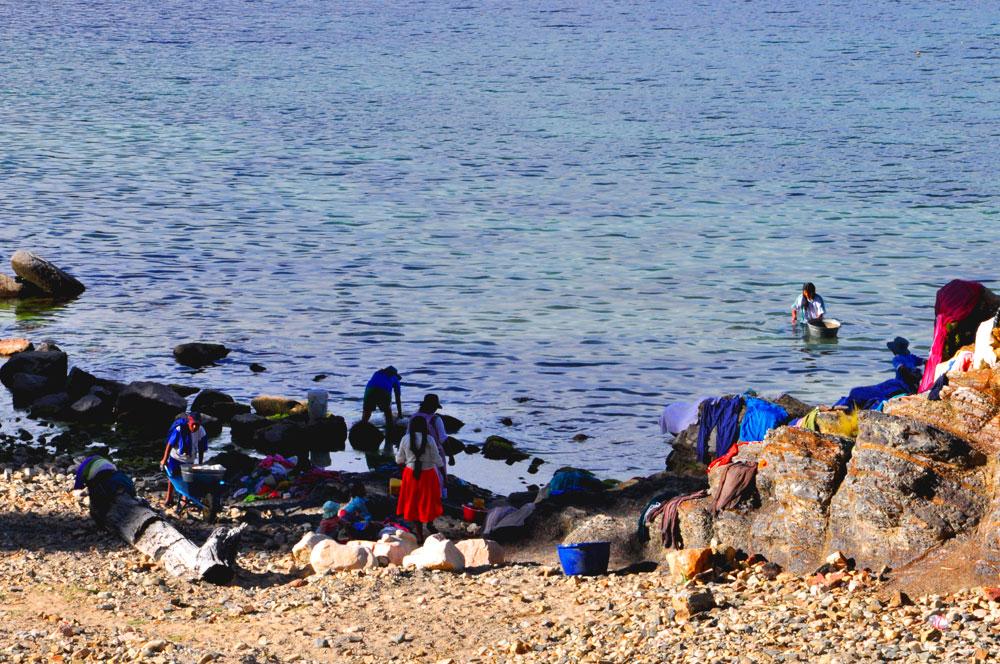 Isla del Sol, lave-linge
