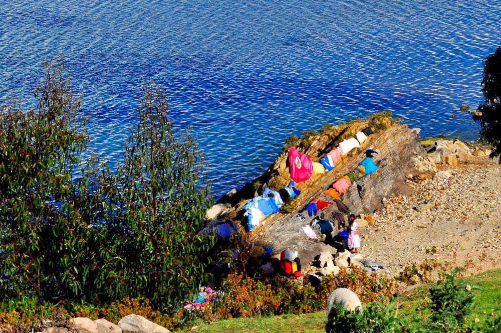 Isla del Sol, sèche-linge
