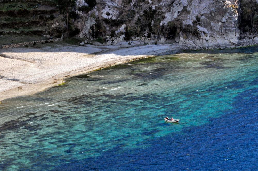 Isla del Sol, une crique