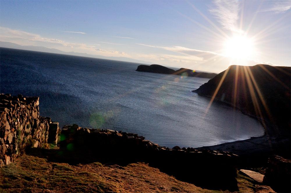 Isla del Sol, coucher de soleil