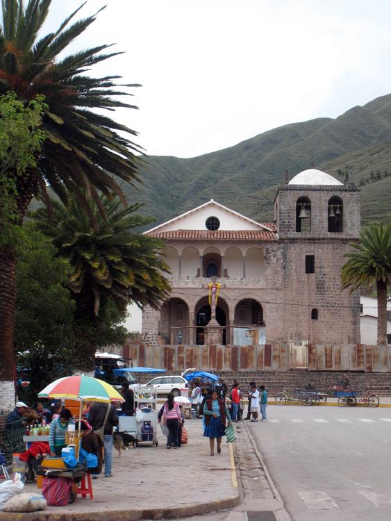 Urcos, dernière ville avant Cusco