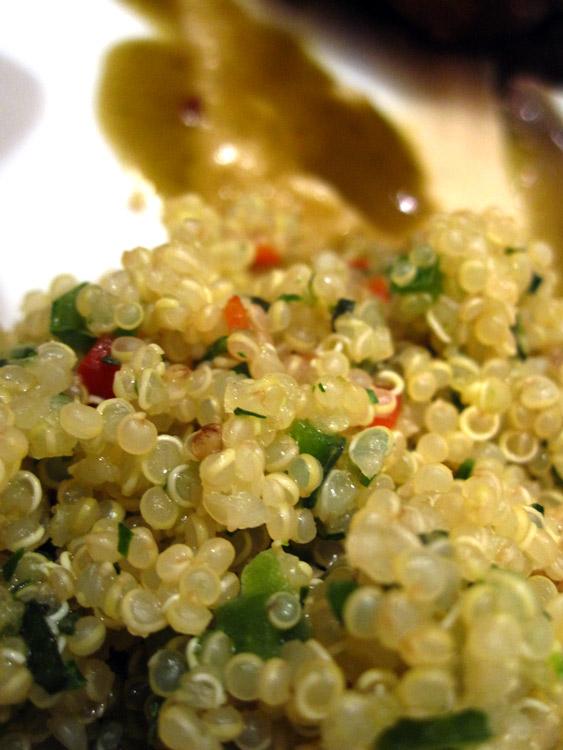 L'incontournable quinoa (ici en taboulé)