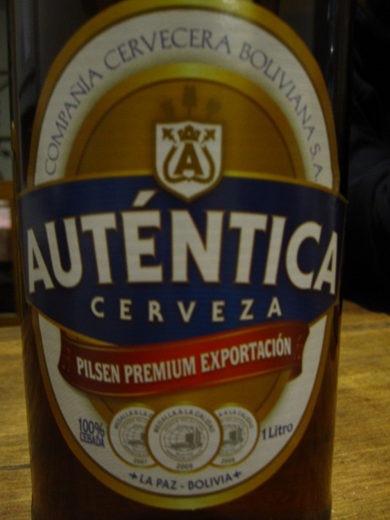 La bière Auténtica