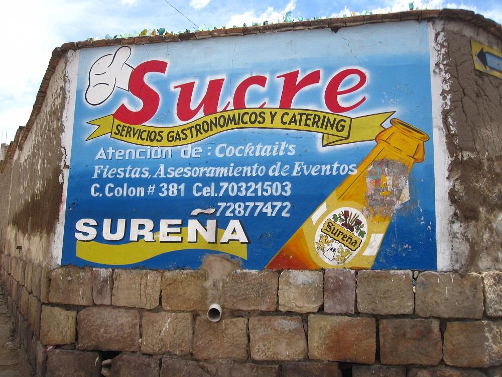 La Sureña : bière locale (sucrée bien-sûr)