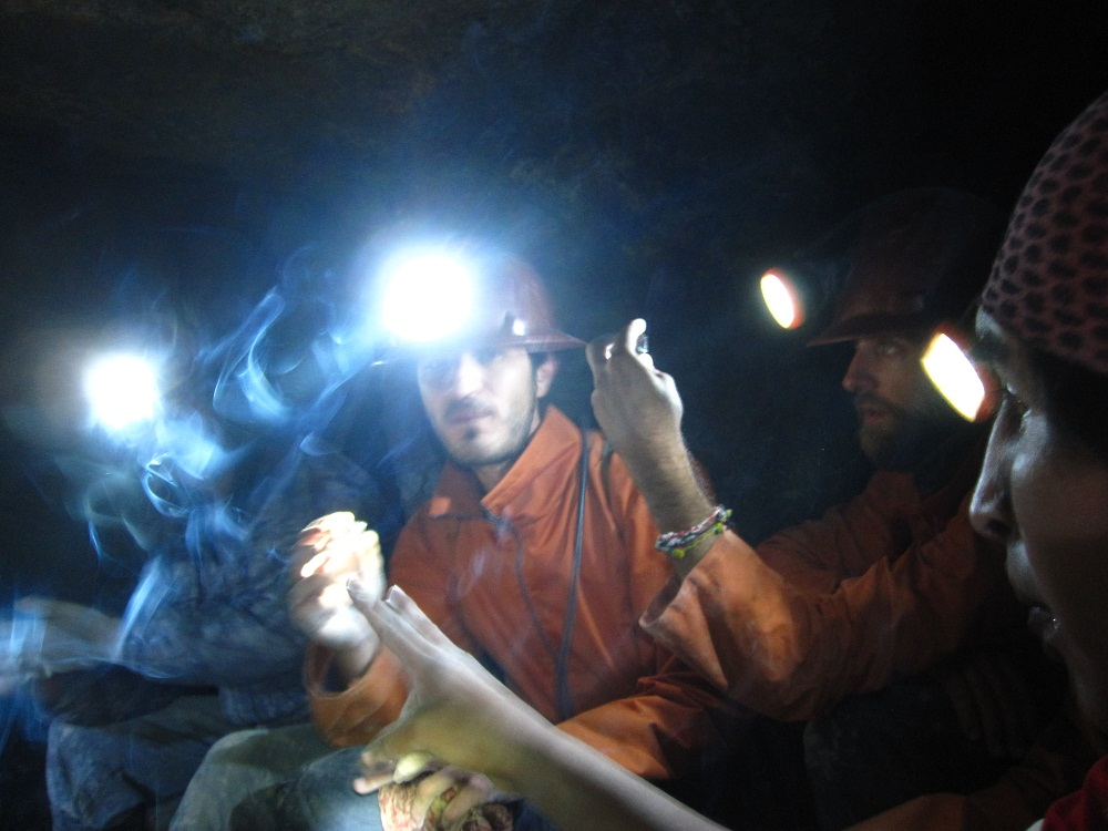 Dans la mine - Potosi
