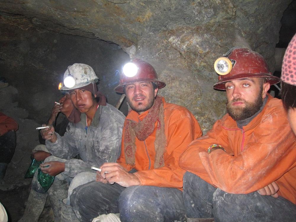 Dans la mine - Potosi, Got a abusé de l'alcool à 96°