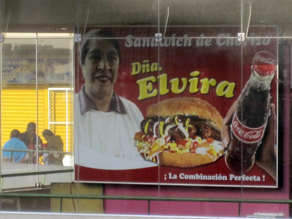 La Paz, page de pub sister