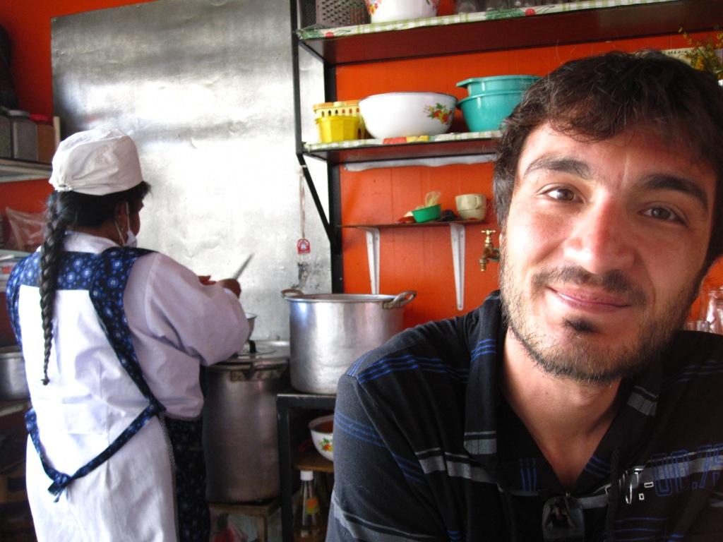 La Paz, Kim au comedor (à la cantine quoi!)