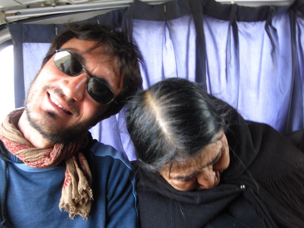 En route pour Tiwanaku