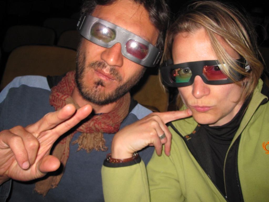 La Paz, ciné 3D, film nul