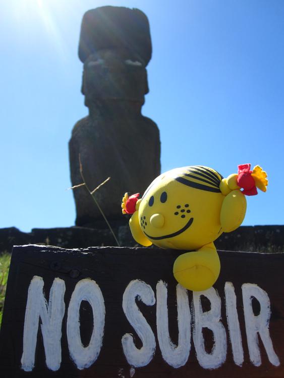 Ahu Ko Te Riku, madame bonheur vous rappelle les consignes
