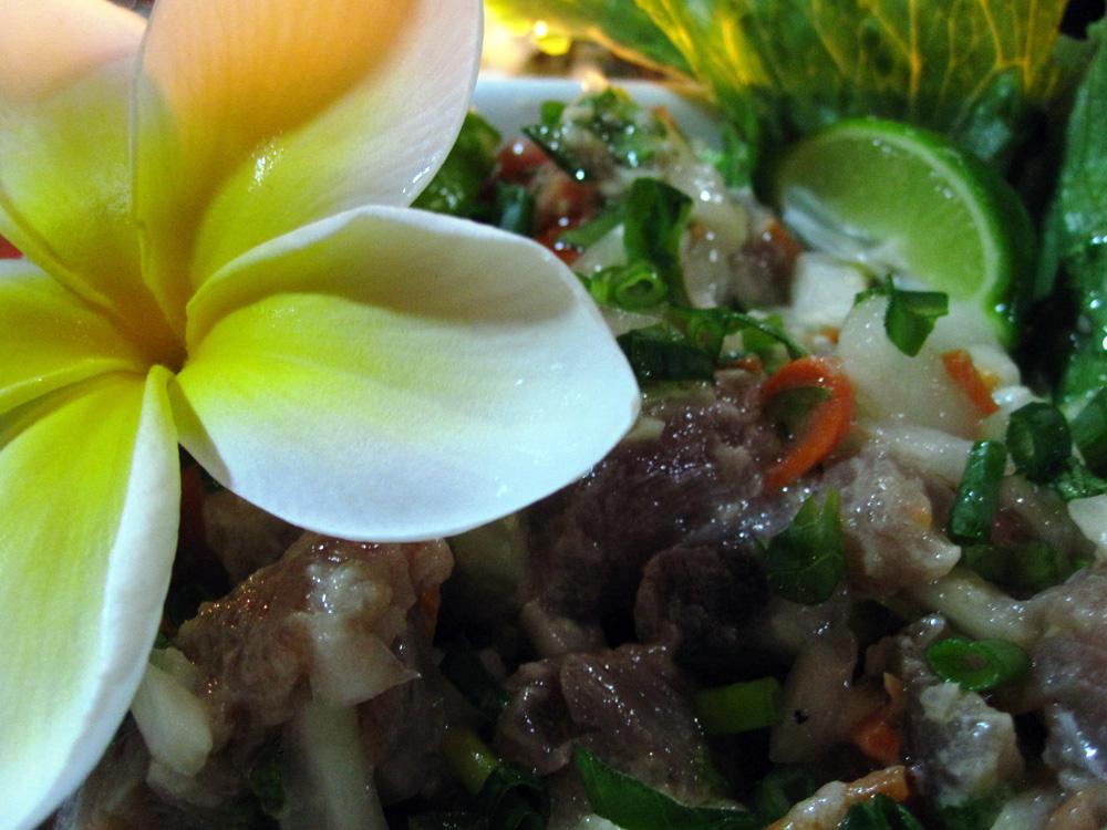 Ceviche de thon