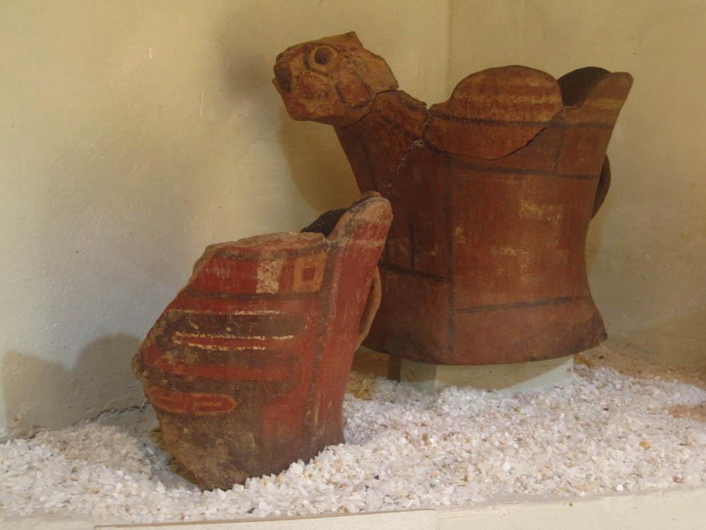 Sur Tikonata, au musée