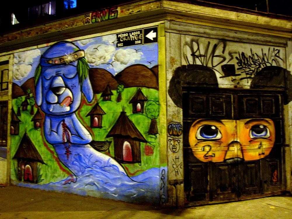 Iquique, peinture murale