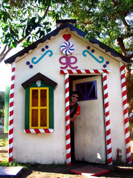 Pica, maison de sucre
