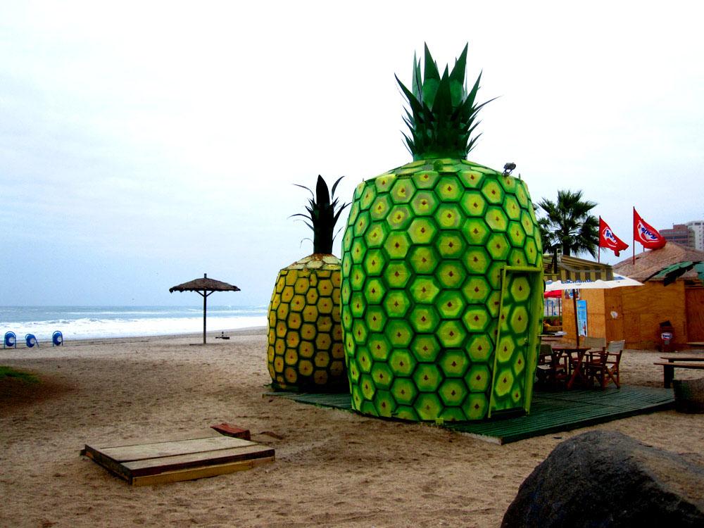 Iquique, la plage